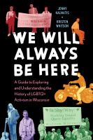 Cover of We Will Always Be Here: A