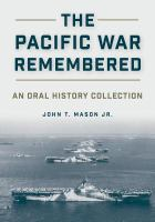 The Pacific War Remembered