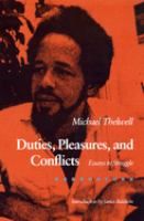 Duties, Pleasures, and Conflicts