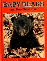 Baby Bears and How They Grow