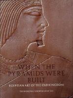 When the Pyramids Were Built