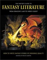 The Writer's Guide to Fantasy Literature