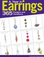 A Year in Earrings
