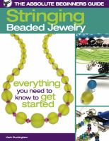 Stringing Beaded Jewelry