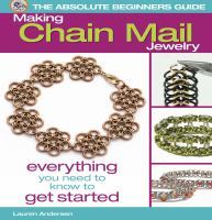 Making Chain Mail Jewelry
