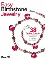 Easy Birthstone Jewelry