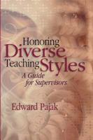 Honoring Diversey Teaching Styles