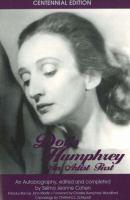 Doris Humphrey, An Artist First
