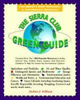 The Sierra Club Green Guide