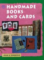 Handmade Books and Cards