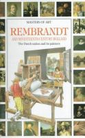 Rembrandt and Seventeenth-century Holland