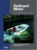 Outboard Motor Service Manual