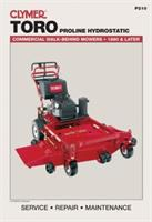 Clymer Toro Proline Hydrostatic Commercial Walk-behind Mowers, 1990 & Later