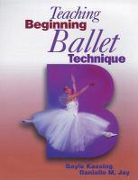 Teaching Beginning Ballet Technique