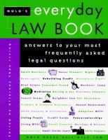 Nolo's Everyday Law Book