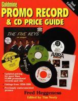 Promo Record & CD Price Guide