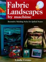 Fabric Landscapes by Machine