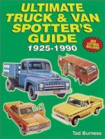 Ultimate Truck and Van Spotter's Guide 1925-1990