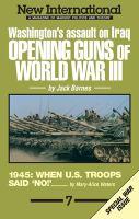 Opening Guns of World War III