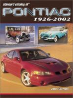 Standard Catalog Of Pontiac