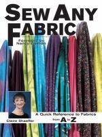Sew Any Fabric