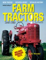 Standard Catalog of Farm Tractors, 1890-1980