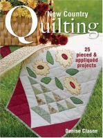 New Country Quilting for the Home