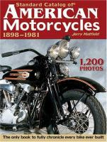 Standard Catalog of American Motorcycles, 1898-1981