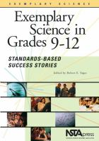 Exemplary Science in Grades 9-12: Standards-based Success Stories