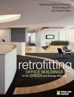 Retrofitting Buildings to Be Green and Energy-efficient