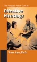 The Manager's Pocket Guide to Effective Meetings