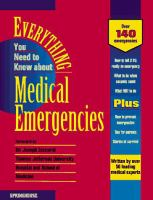 Everything You Need to Know About Medical Emergencies