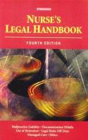 Nurse's Legal Handbook