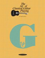The Art of Classical Guitar Playing