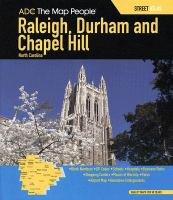 Raleigh, Durham and Chapel Hill North Carolina