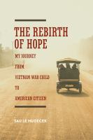 The Rebirth of Hope