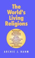 The World's Living Religions