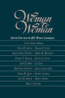 Woman To Woman : Selected Talks From The BYU Women's Conferences