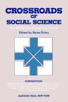 Crossroads of Social Science