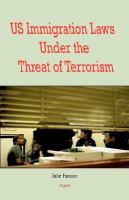 US Immigration Laws Under the Threat of Terrorism