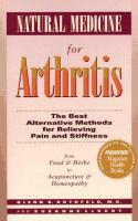 Natural Medicine for Arthritis