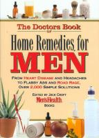 The Doctors Book of Home Remedies for Men