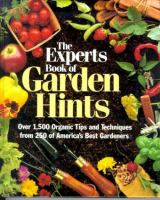 The Experts Book Of Garden Hints