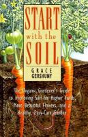 Start With The Soil