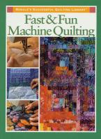Fast & Fun Machine Quilting