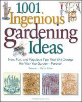 1,001 Ingenious Gardening Ideas