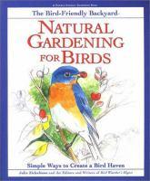The Bird-friendly Backyard