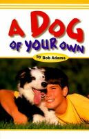 A Dog of your Own