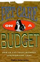Pet Care on A Budget