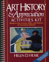 Art History & Appreciation Activities Kit